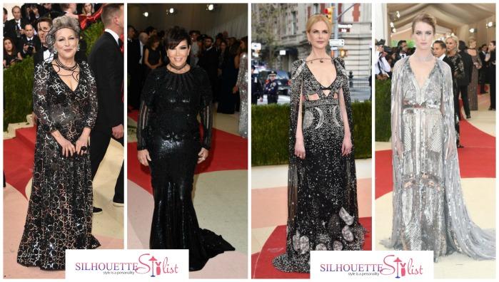 Bette Midler in Marc Jacobs, Kris Jenner in Balmain, Nicole Kidman, Mackenzie Davis in Altuzarra