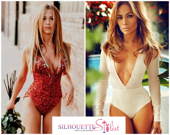 Jennifer Aniston Vs. Jennifer Lopez in bodysuits