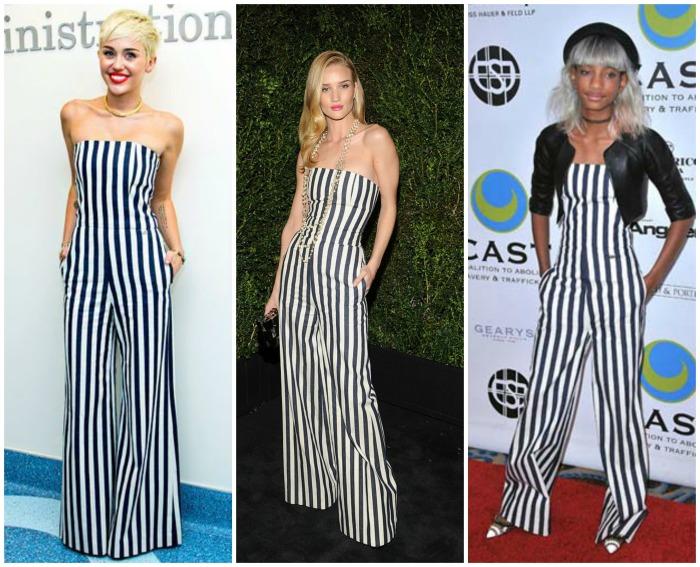 Miley Cyrus, Rosie Huntington-Whiteley & Willow Smith