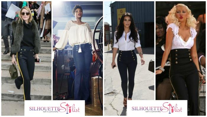 Sailor Jeans Olivia Palermo, Jennifer Hudson, Kim Kardashian, Christina Aguilera