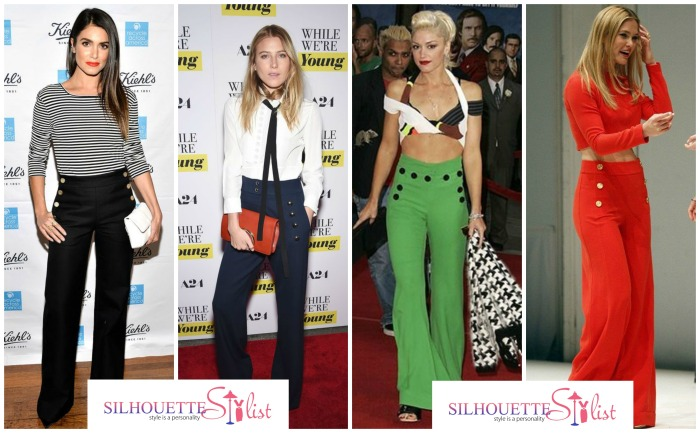 Sailor Pants Nikki Reed, Dree Hemingway, Gwen Stefani, Bar Refaeli