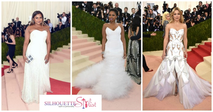 Sweetheart Neckline Met Gala 2016 Wedding gown inspiration ideas: Kate Hudson, Jennifer Hudson, Mindy Kaling