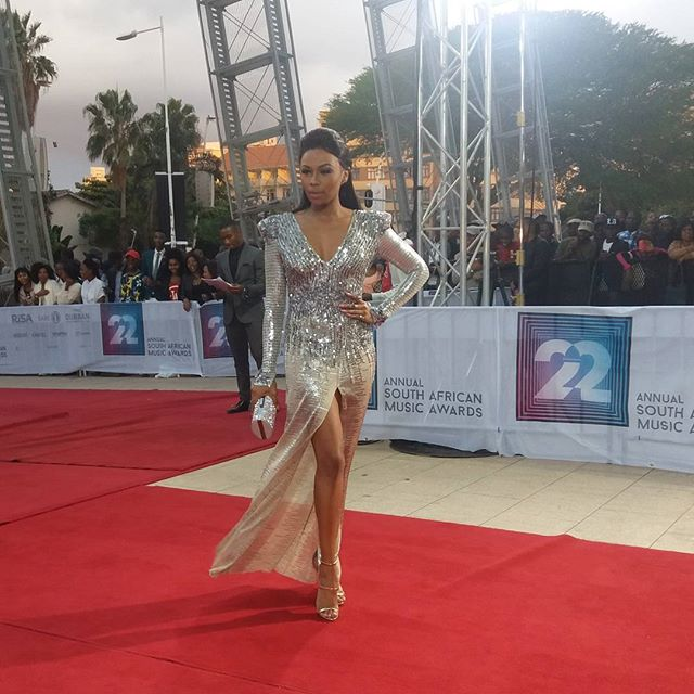 Edgy Red Carpet Dress